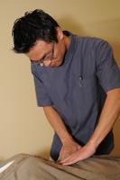 上尾のカイロプラクティック整体院での内臓の確認