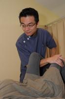大腿四頭筋の筋反射テスト
